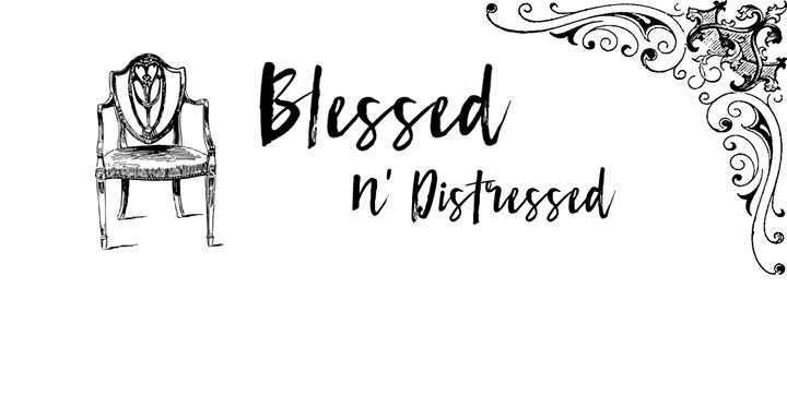 Blessed N' Distressed cover