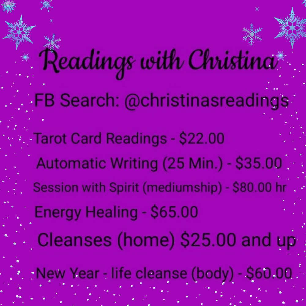 Readings with Christina cover