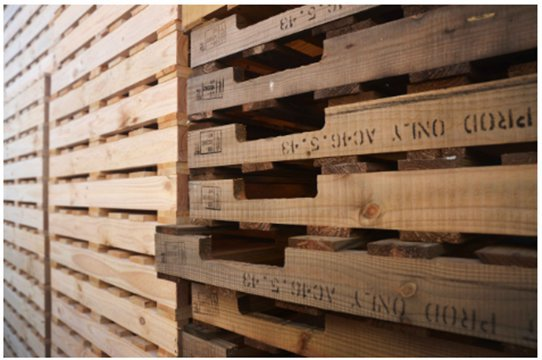 Export Pallets cover