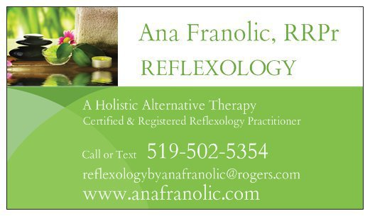 Ana Franolic Reflexology RRPr cover