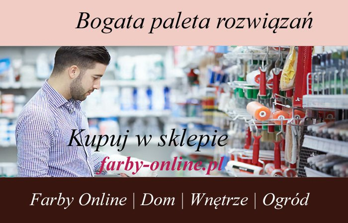 Sklep internetowy farby-online.pl  cover