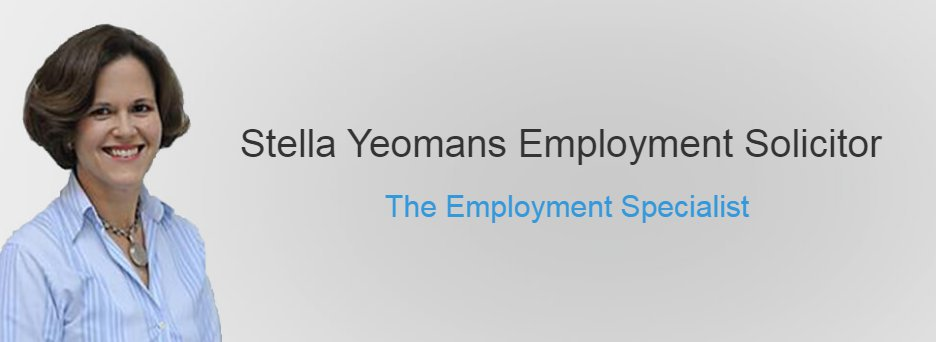 Stella Yeomans Employment Solicitor cover