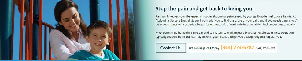 Abdominal Surgery Specialists cover