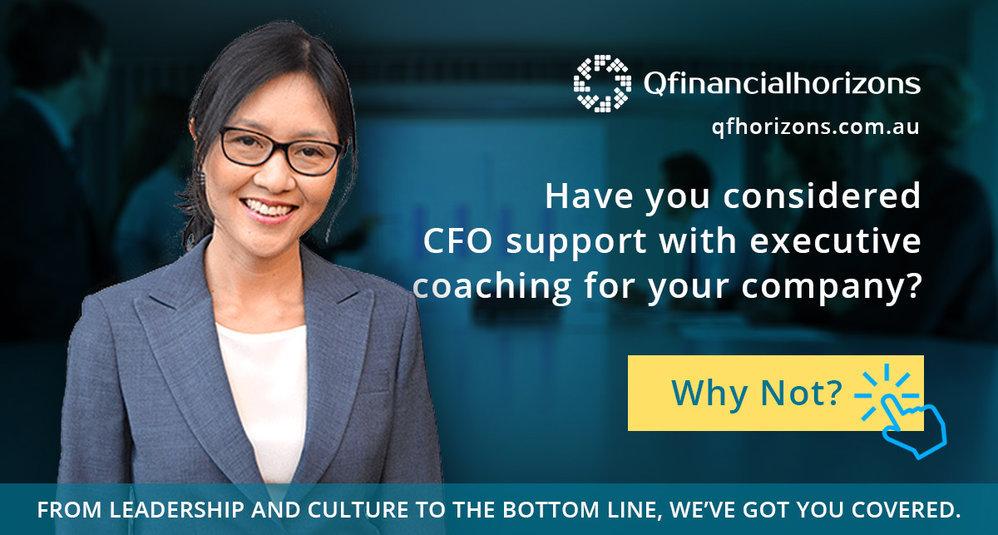 Sydney Executive Coaching - QFHorizons cover