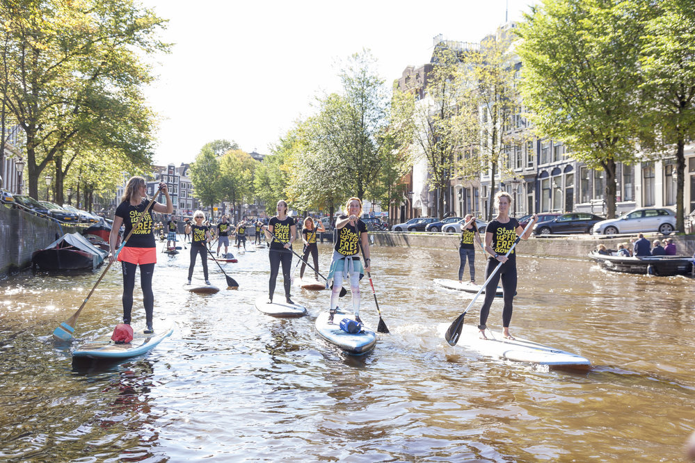 M&M Stand Up Paddling Amsterdam cover