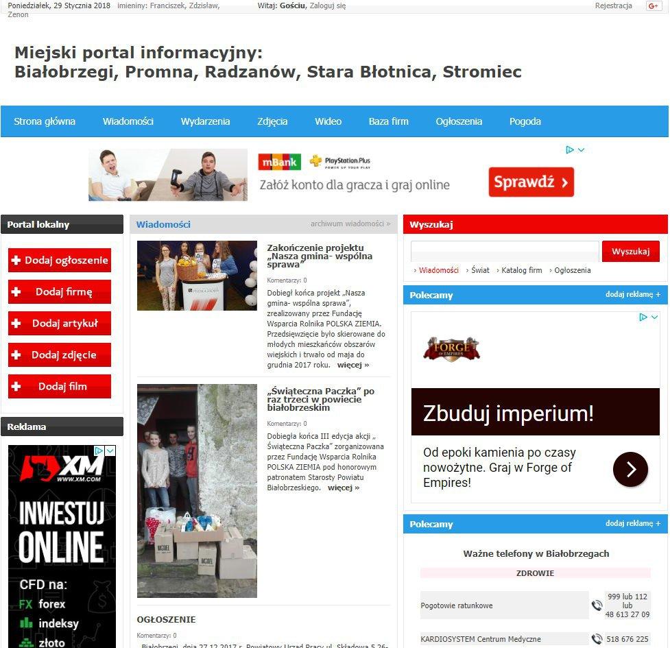 Białobrzegi - Informator Lokalny cover