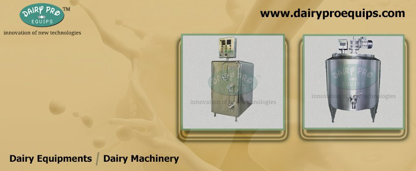 Dairy Machinery Manufacturers, Pasteurizer Plant In India cover
