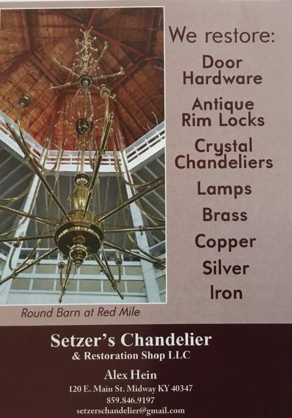 Setters Chandelier & Restoration Shop LLC cover
