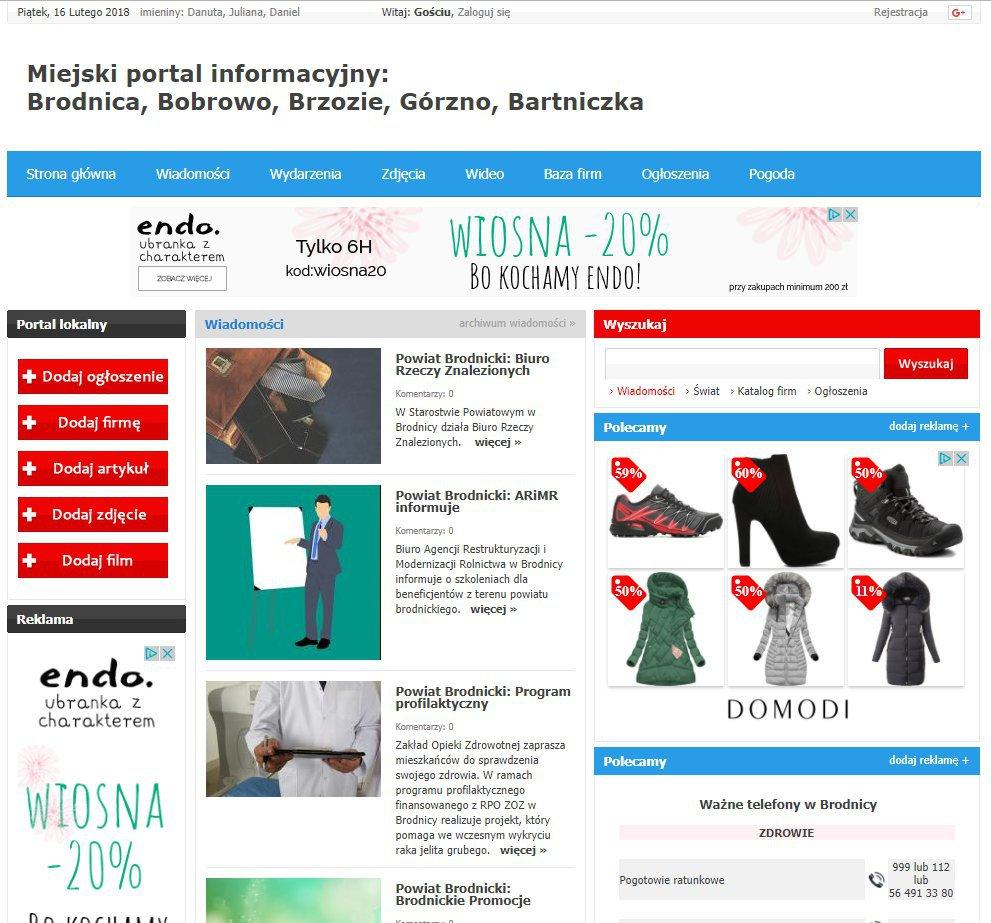 Brodnica - Informator Lokalny cover