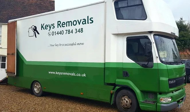 Keys Removals & Storage cover