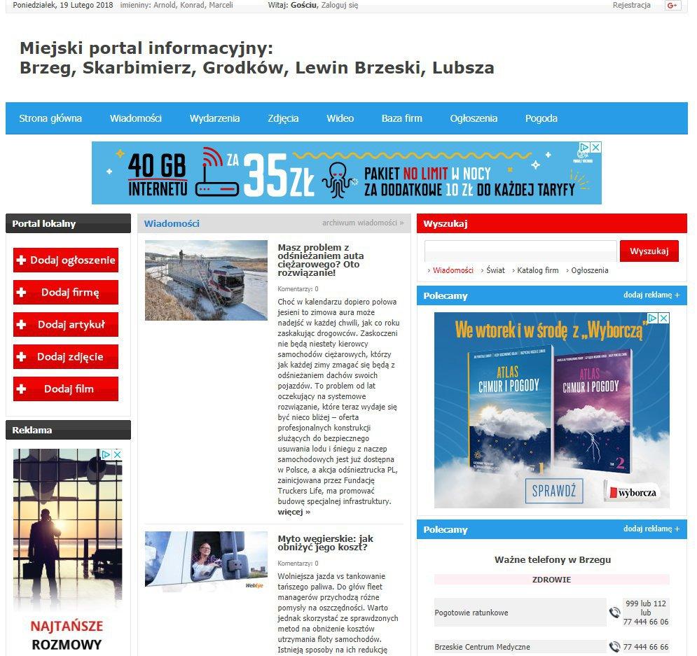 Brzeg - Informator Lokalny cover