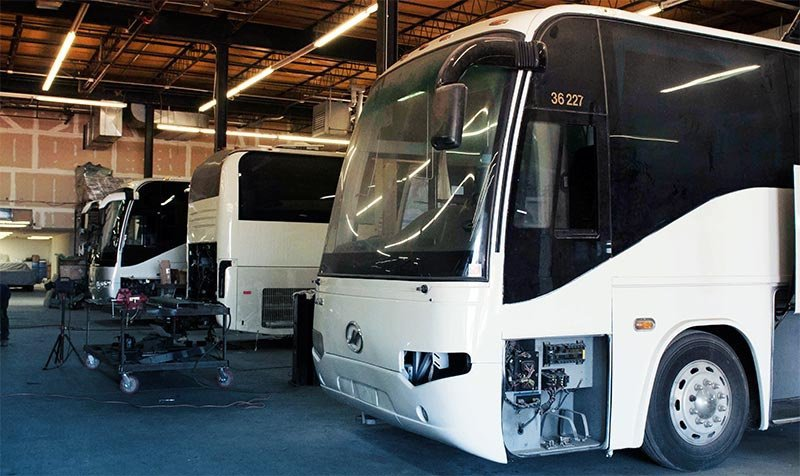 Bus Repair Service and Maintenance cover