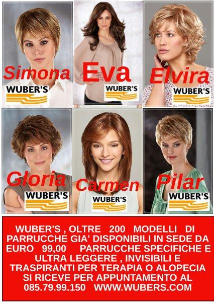 WUBER'S  parrucche e protesi capelli Pescara  cover