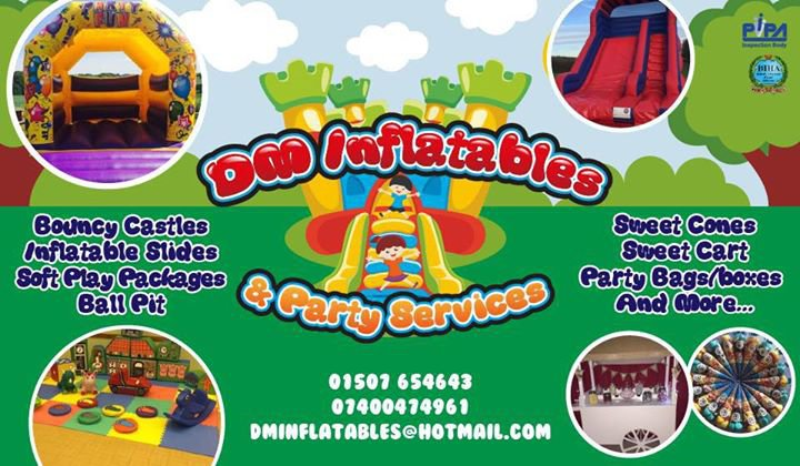 DM Inflatables & Party Services cover