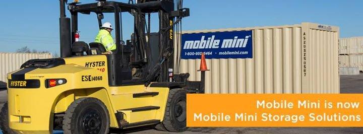 Mobile Mini - Storage   Tanks   Pumps cover