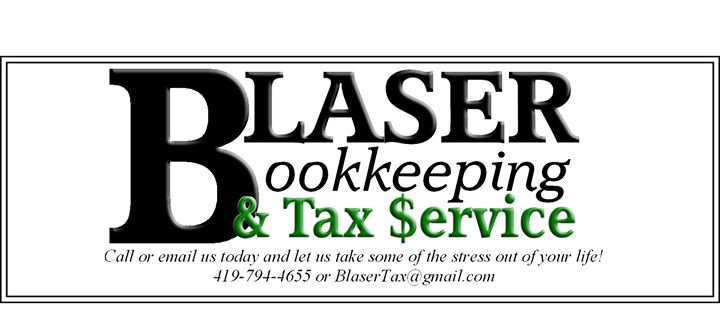 Blaser Bookkeeping and Tax Service cover