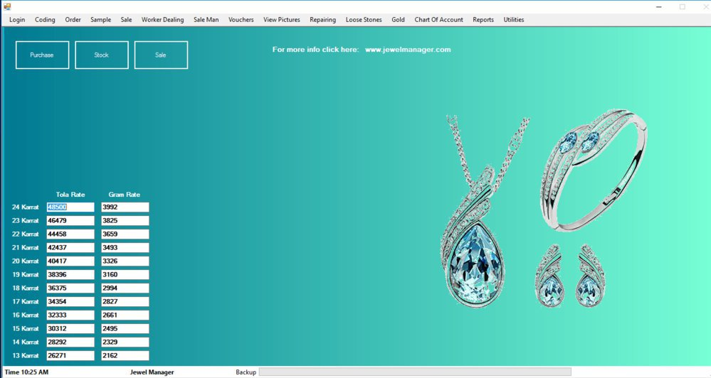 Jewellery Software cover