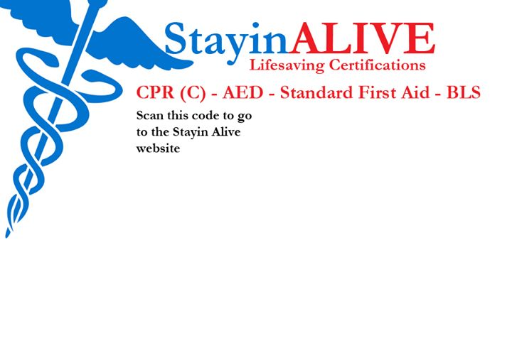 Stayin Alive CPR cover