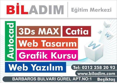 3D MAX KURSU İSTANBUL cover