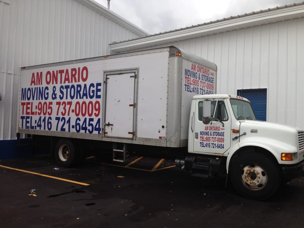 AM Ontario Moving & Storage Inc. cover