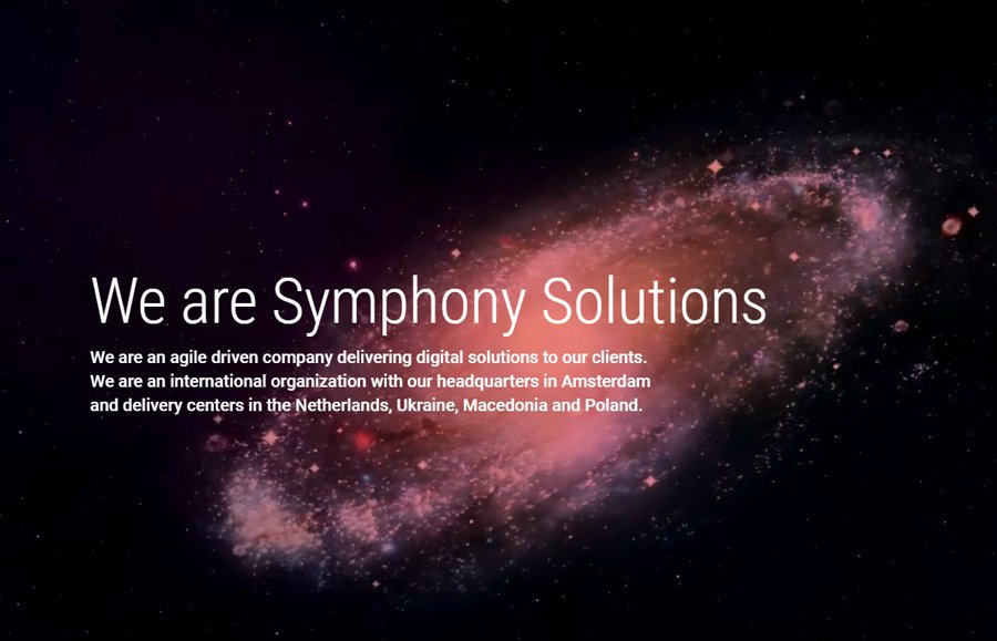 Symphony Solutions cover