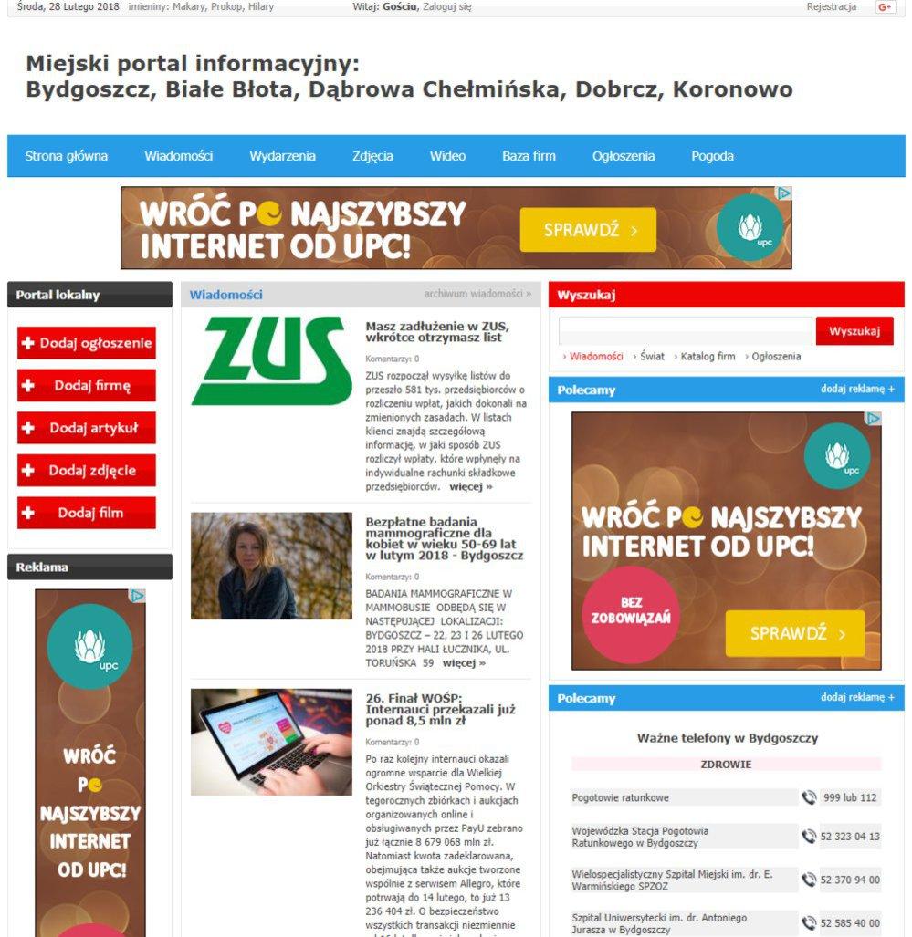 Bydgoszcz - Informator Lokalny cover