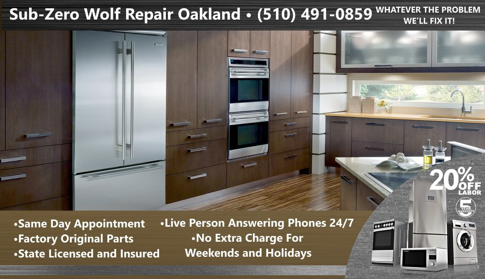 Sub-Zero Wolf Repair Oakland cover