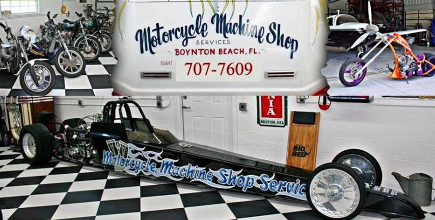Motorcycle Machine Shop Services cover