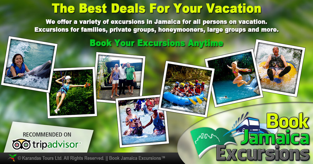 Book Jamaica Excursions cover