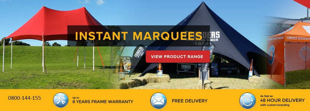 Shedline Instant Marquees cover