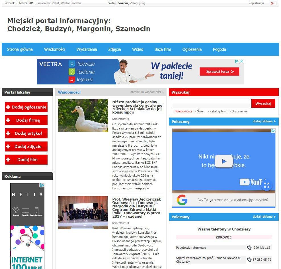 Chodzież - Informator Lokalny cover