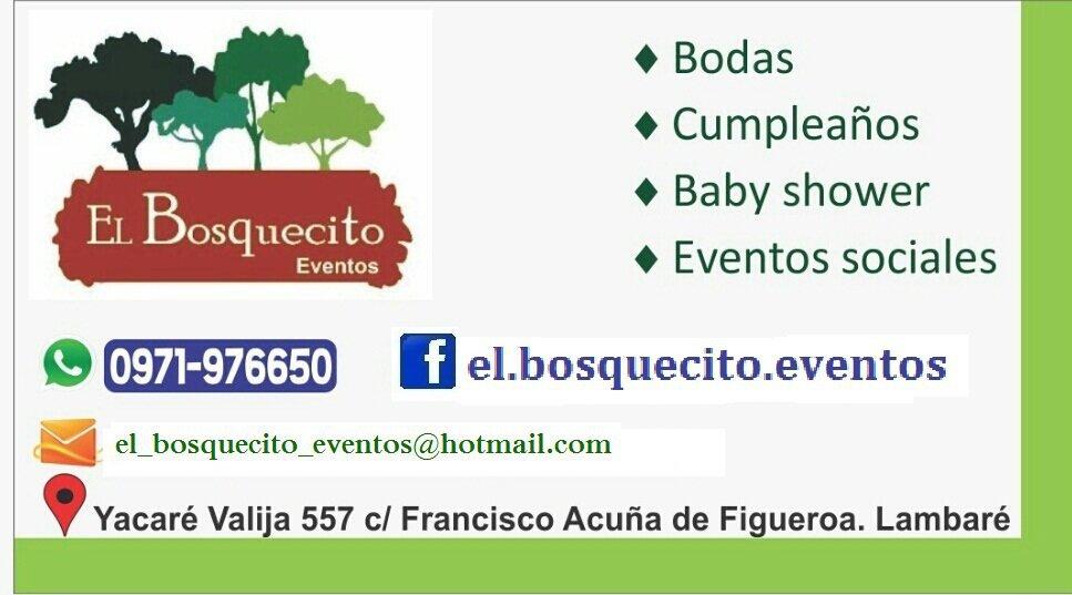 El Bosquecito Eventos cover