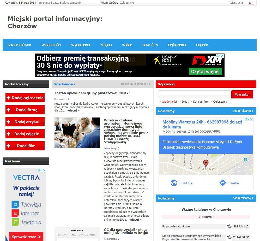 Chorzów - Informator Lokalny cover