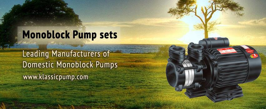 Monoblock Pump Manufacturer, SS Pumps Manufacturer cover