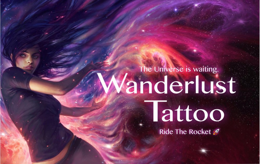 Wanderlust Tattoo cover
