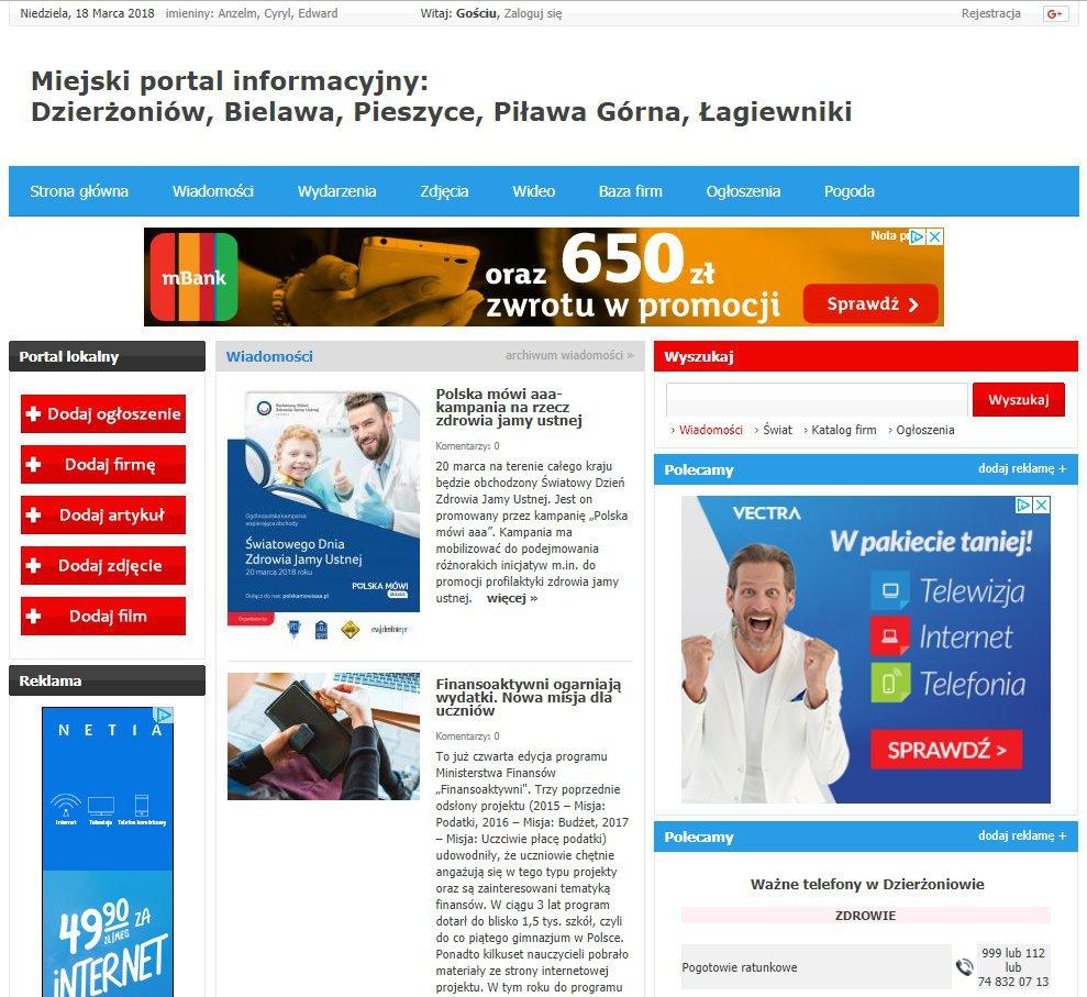 Dzierżoniów - Informator Lokalny cover