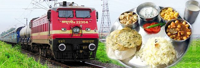 Meals on Train at Railways Station cover