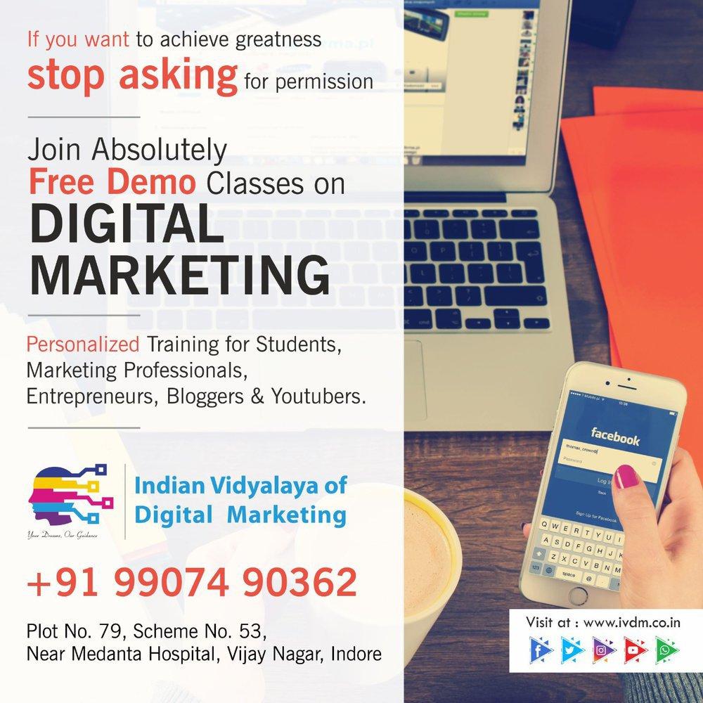 Indian Vidyalaya of Digital Marketing cover