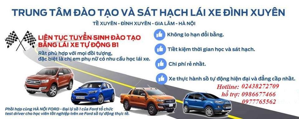 Trung tâm đào tạo và sát hạch lái xe Đình Xuyên - sở SGTVT HÀ NỘI cover