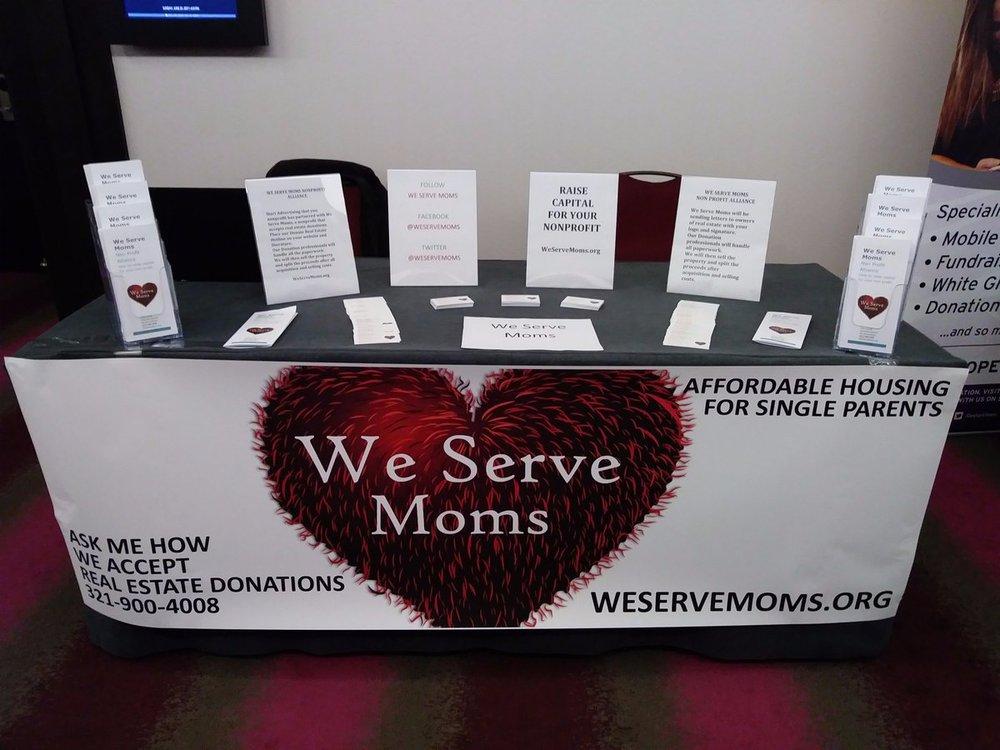 We Serve Moms cover