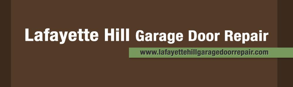Lafayette Hill Garage Door Repair cover