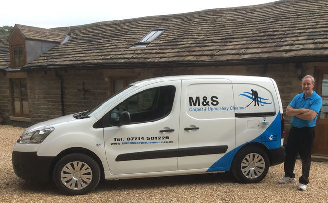 M&S Carpet & Upholstery Cleaners cover