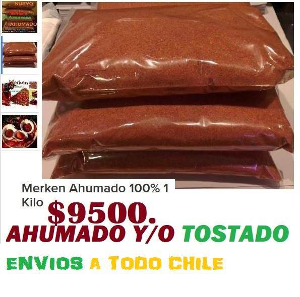 MeRken Araukano ChilE , ENVIOS A TODO CHILE cover
