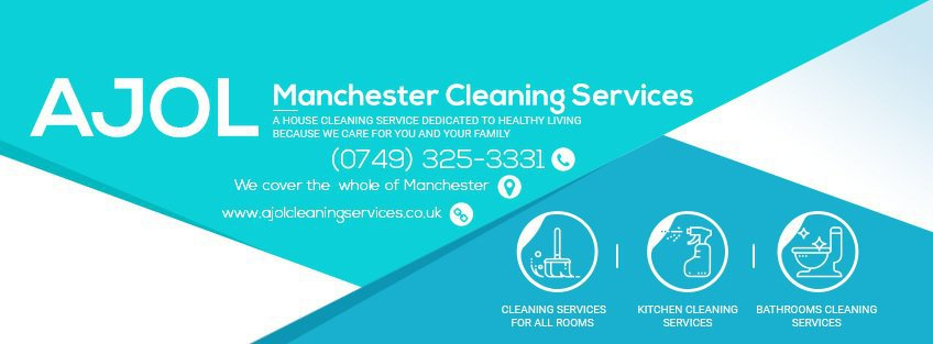 Ajol Cleaning Services Manchester cover