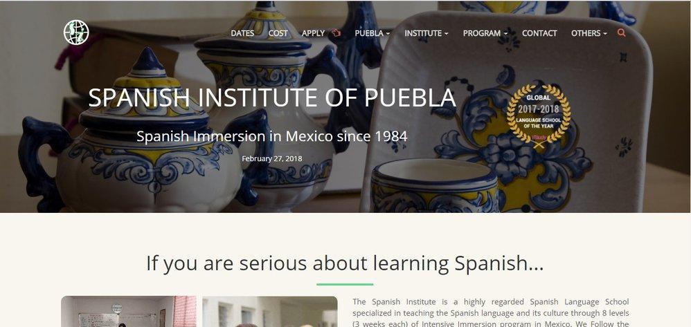 SIPUEBLA - Spanish Language School cover