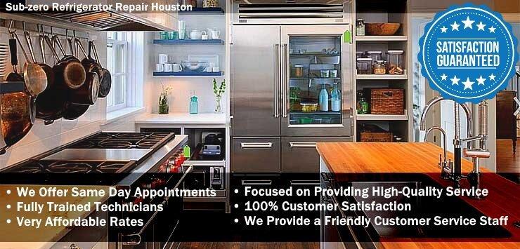 Sub-zero Refrigerator Repair Houston cover