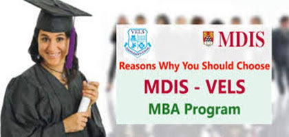 MDIS Vels International MBA College cover
