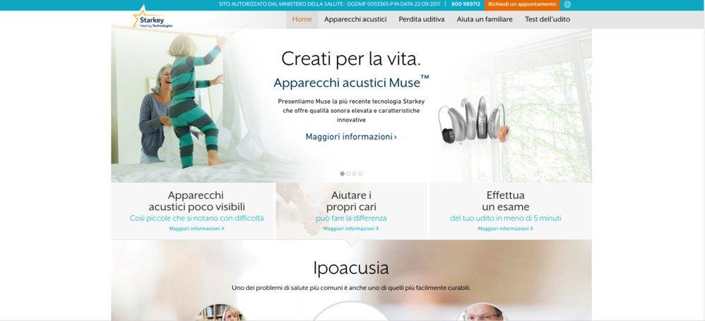 Starkey Italia cover