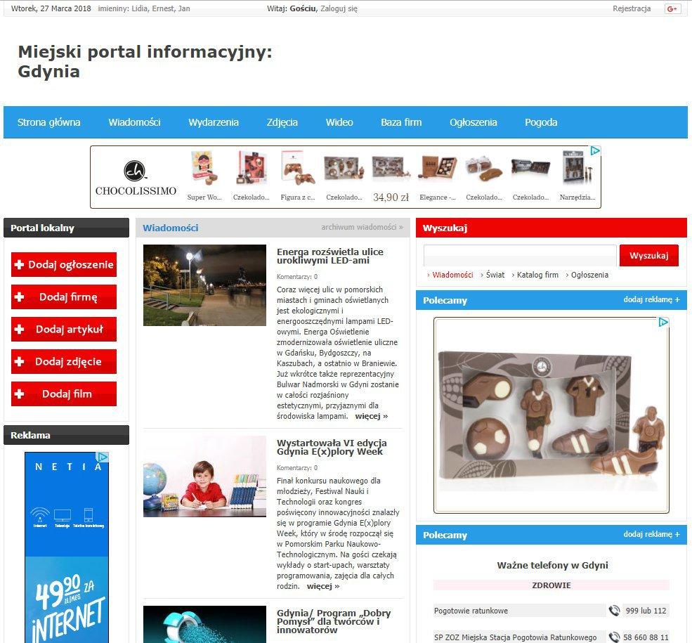 Gdynia - Informator Lokalny cover