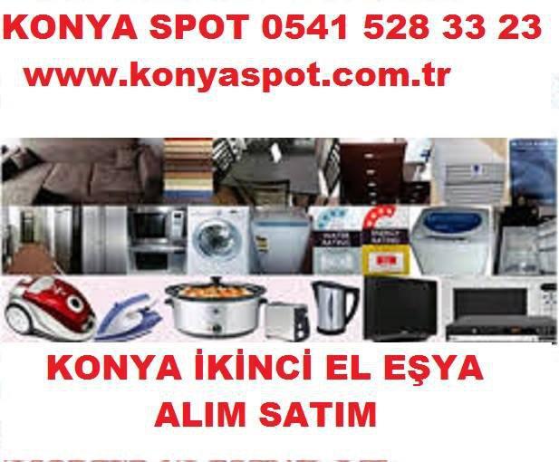 Konya Spot 0541 528 33 23 Konya 2.el Eşya Alım Satım  cover